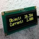 TEC Controller and Operation Status on OLED Displays