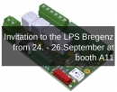 Invitation to the LPS Bregenz Austria